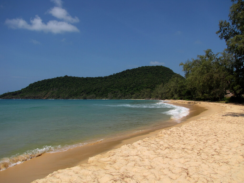 Lazy Beach, plage du Cambodge