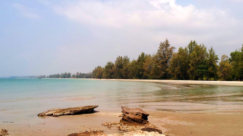 Plage de Otres Beach, Cambodge