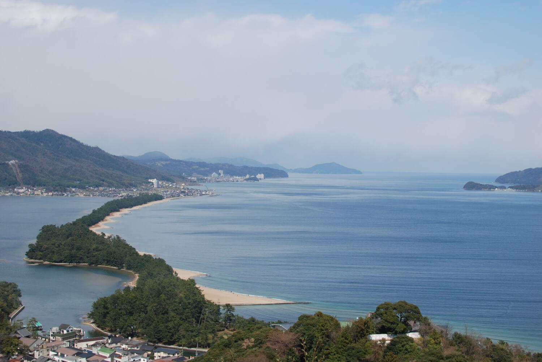Amanohashidate, plage du Japon
