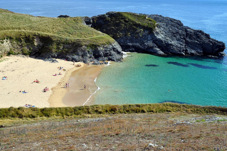 Baluden y Herlin, Belle-Île en Mer, plages de Bretagne