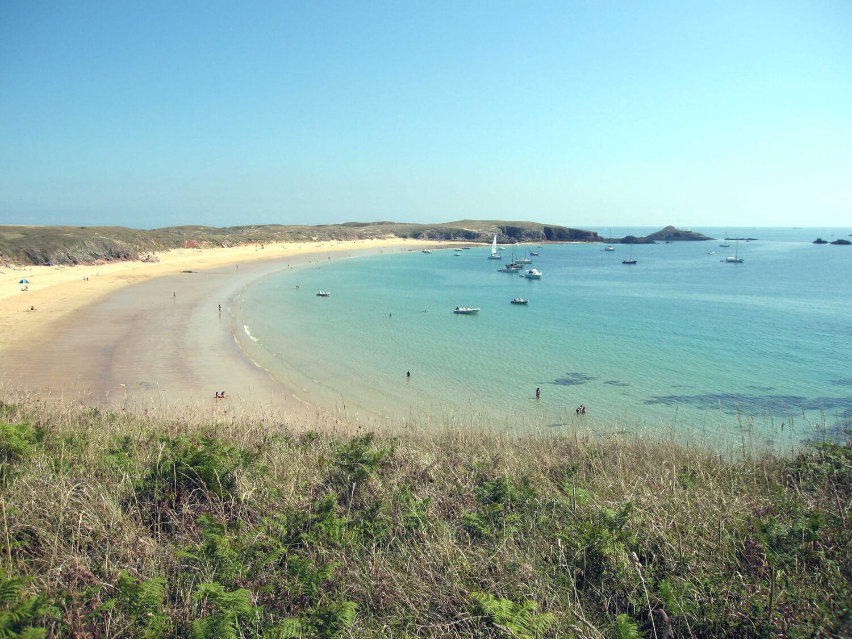 Ile de Houat, plage de Bretagne