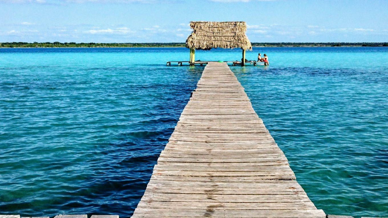 Bacalar, plages du Yucatán