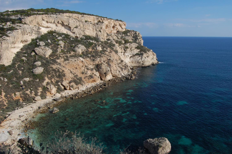 Cala Fighera, naturisme en Sardaigne