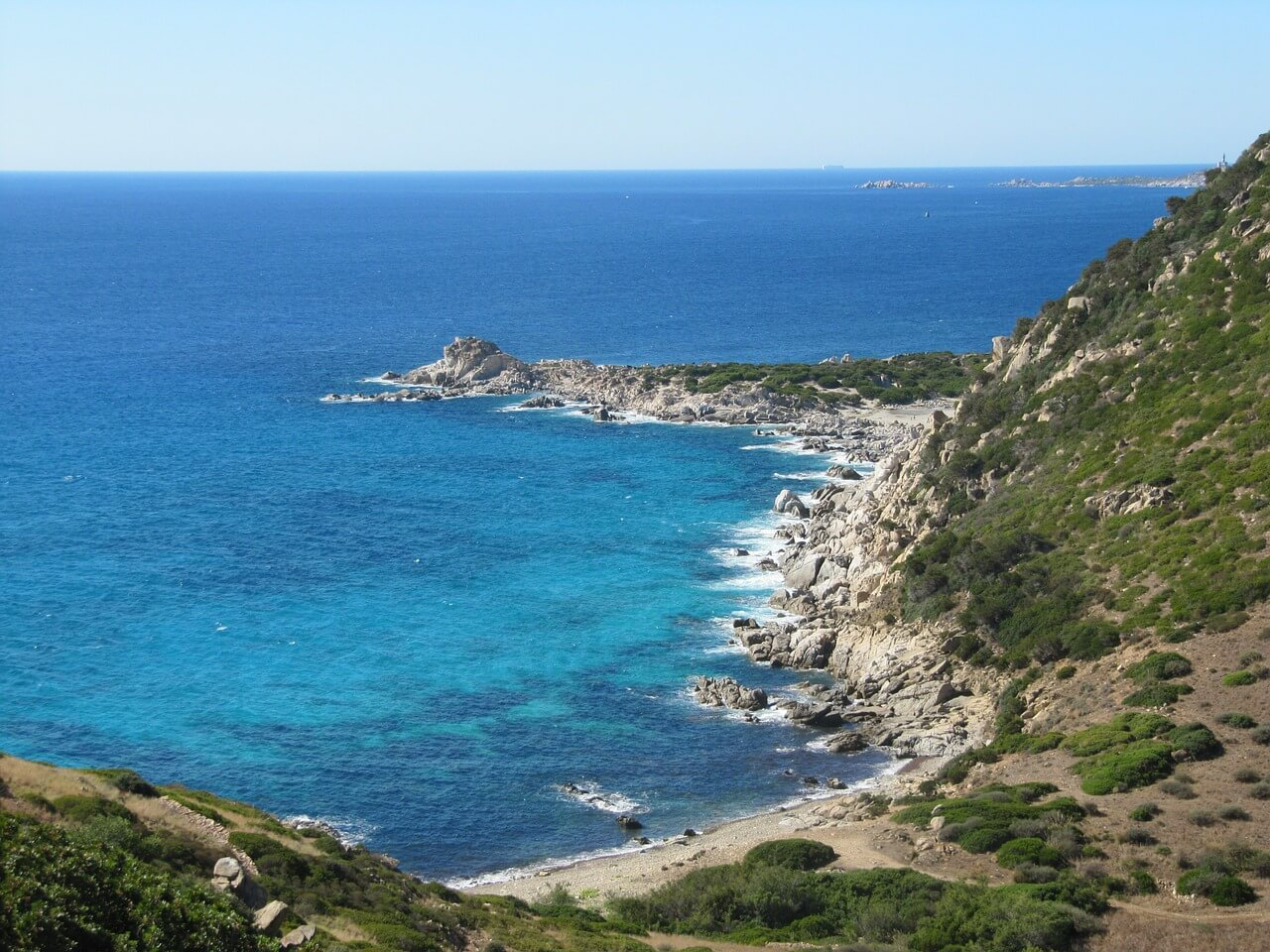 Costa Rei, naturisme en Sardaigne