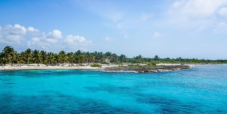 Île de Cozumel, plages du Yucatán