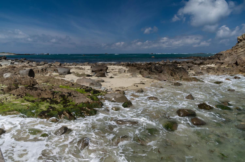 Île aux Moines, plage de Bretagne