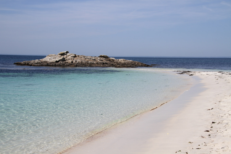 Île Saint Nicolas, Archipel des Glénans, plage de Bretagne
