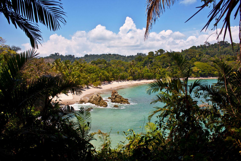 Parc Manuel Antonio, plages du Costa Rica