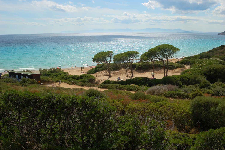 Mari Pintau, naturisme en Sardaigne