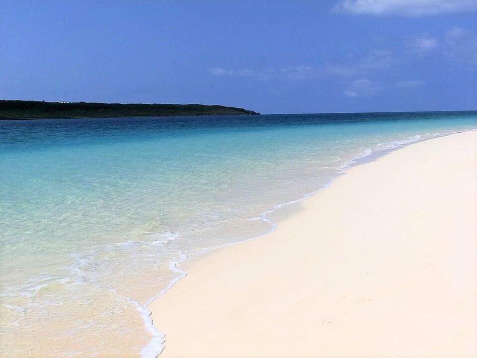 Yonaha Maehama, Île de Miyako, plage du Japon