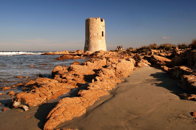 Punta Nera, naturisme en Sardaigne
