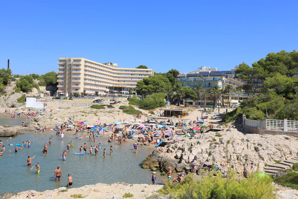 Cala Vinya, plages de Salou