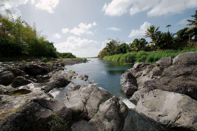 Le Bassin Bleu, se baigner à la Réunion