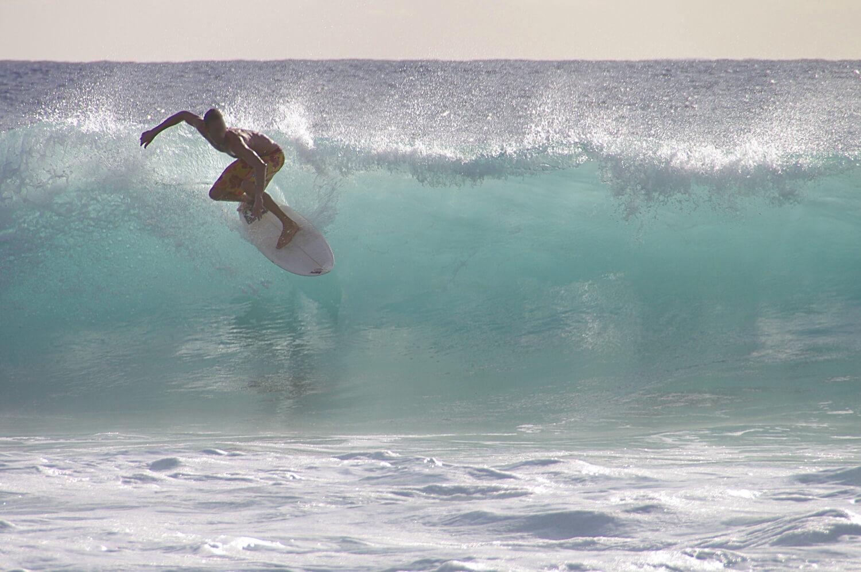 Plage de Boucan-Canot, se baigner à la Réunion