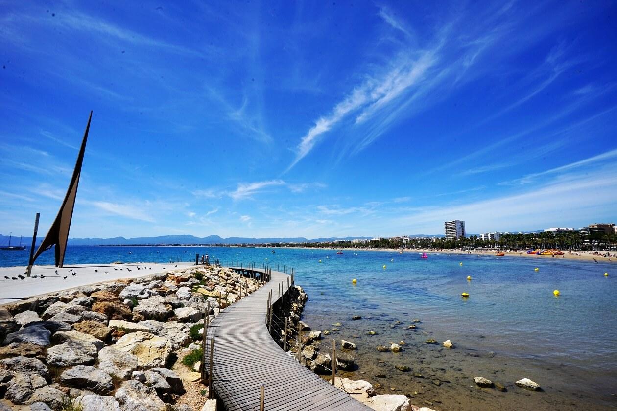 Plage de Capellans, plages de Salou