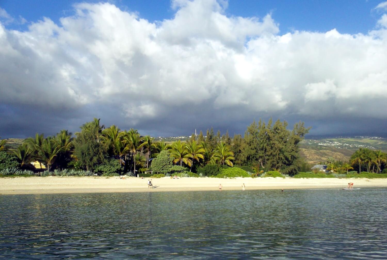 Plage de la Saline, se baigner à la Réunion