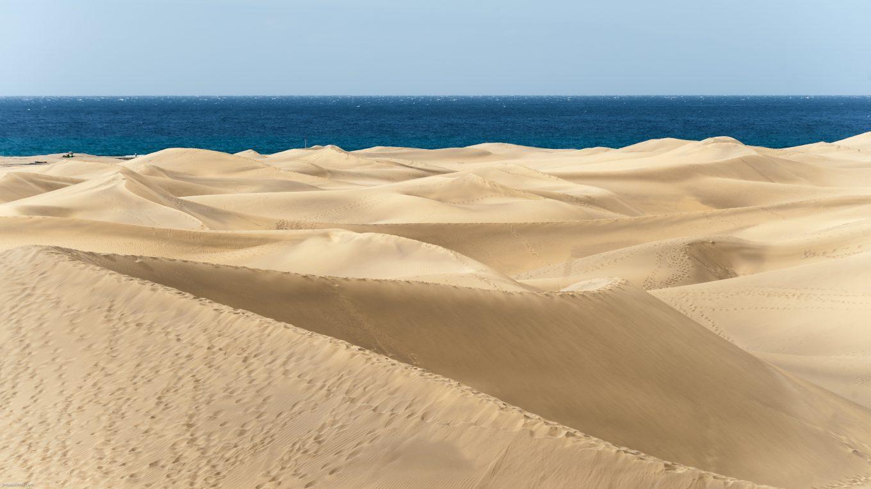 Dunes de Maspalomas, naturisme aux Canaries