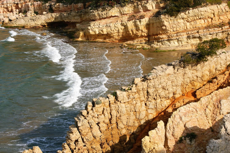 Plage de Penya Tallada, plages de Salou