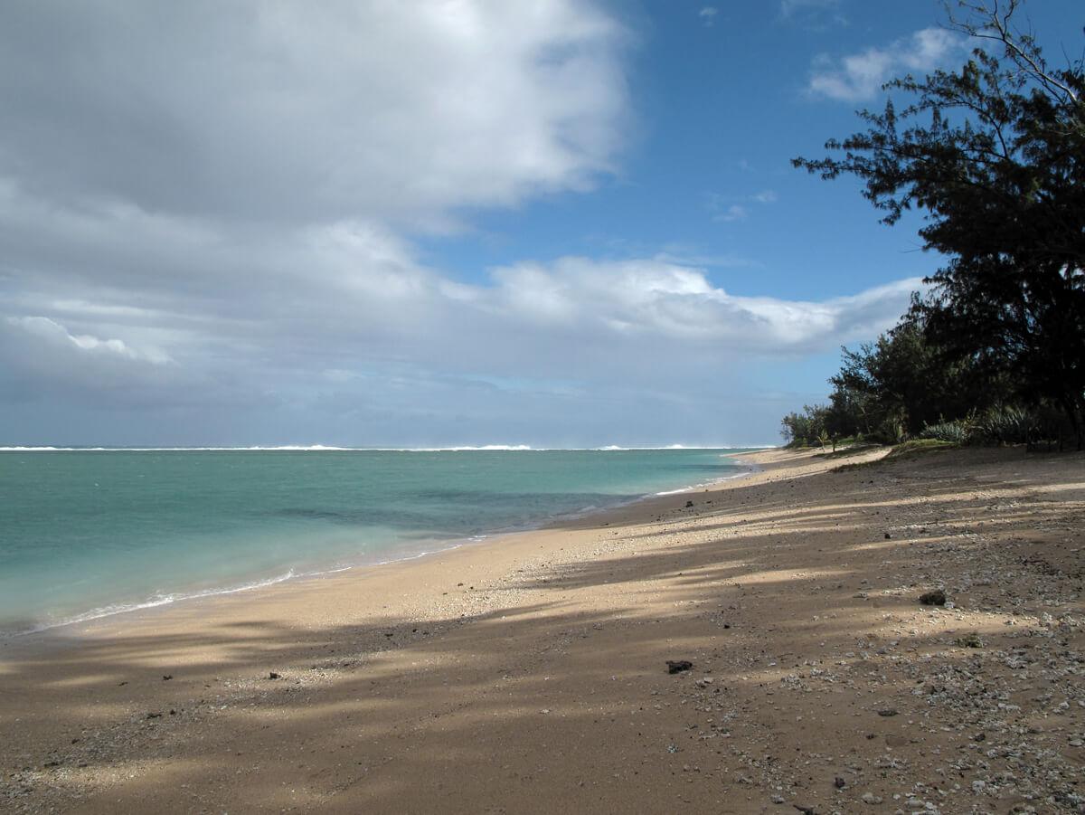 Plage de l'Ermitage, se baigner à la Réunion