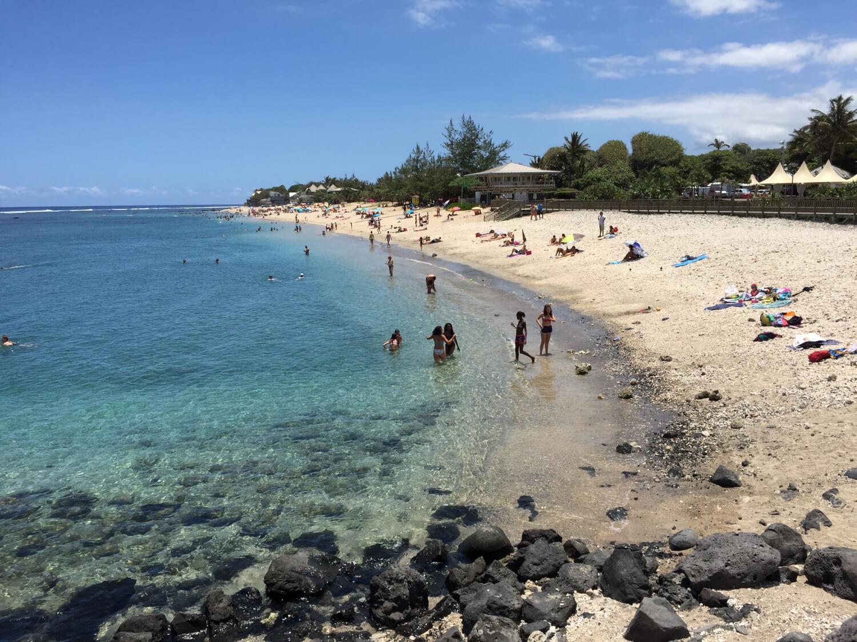 Saint-Pierre, se baigner à la Réunion