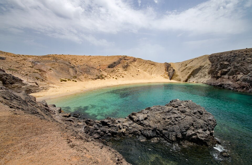 playa papagayo lanzarote plus belles plages d'espagne