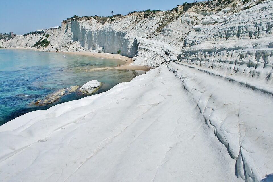 scala dei turchi plus belles plages de Sicile