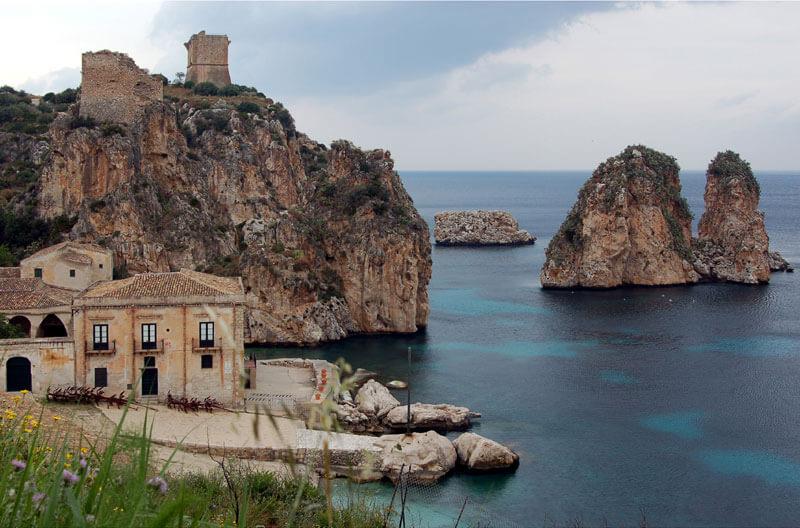 plage scopello plus belles plages de Sicile