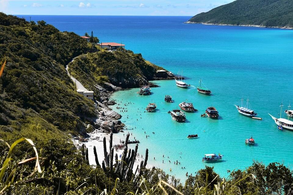 plage bresil panorama naturisme dans le monde