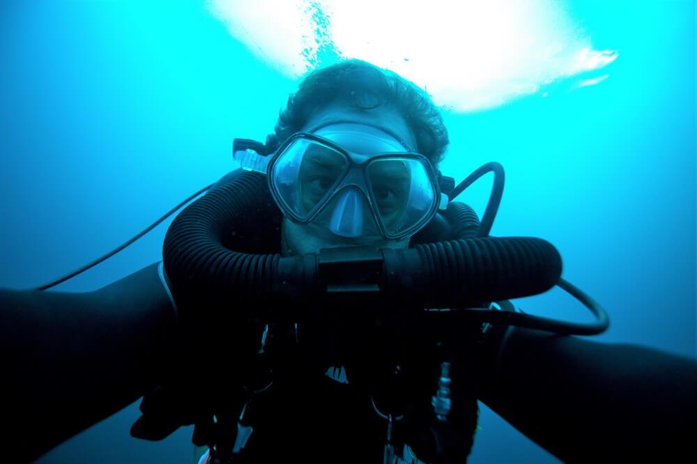 maque plongeur plongée aux philippines