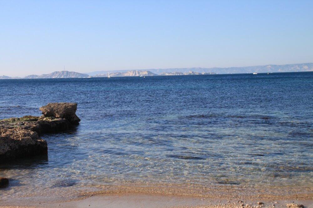 plage de la pointe rouge où se baigner à marseille