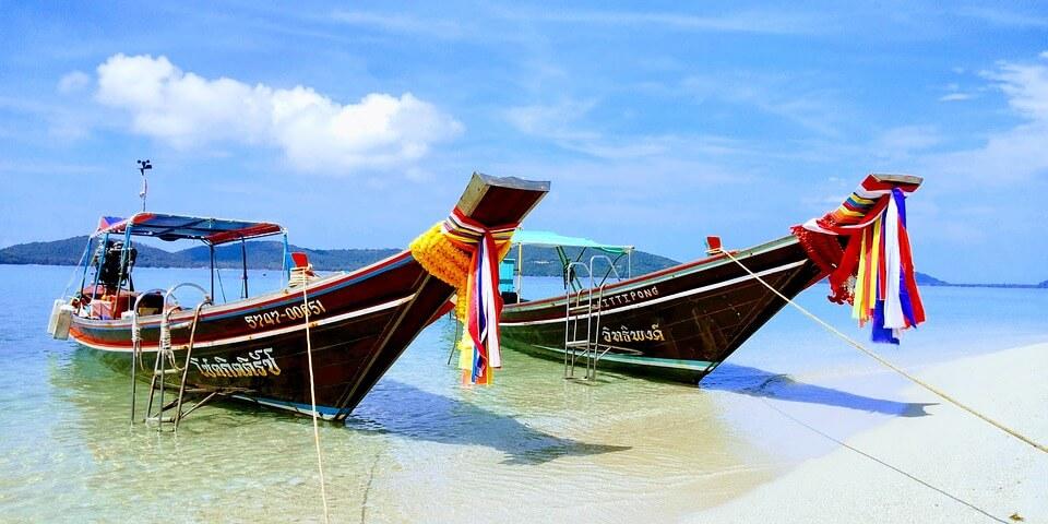 bateaux thailande plages