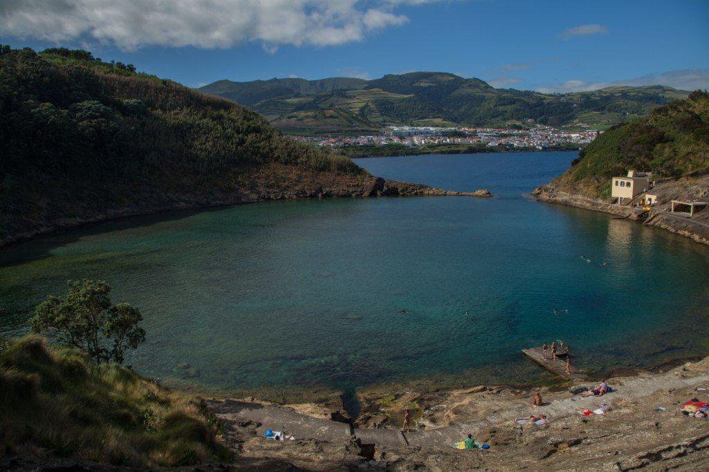 L'îlot de Villa Franca do Campo, située à 1 km des côtes de l'île São Miguel, fait partie des meilleurs des Açores plages.