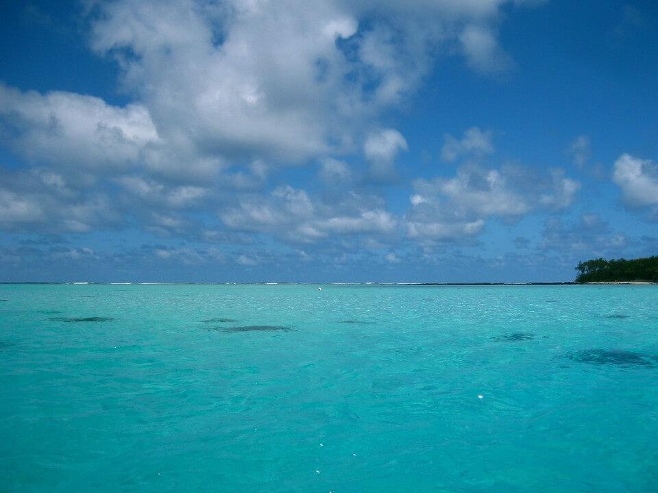 lagon turquoise