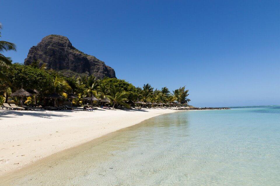 morne brabant plage colline sable plages de l'île Maurice