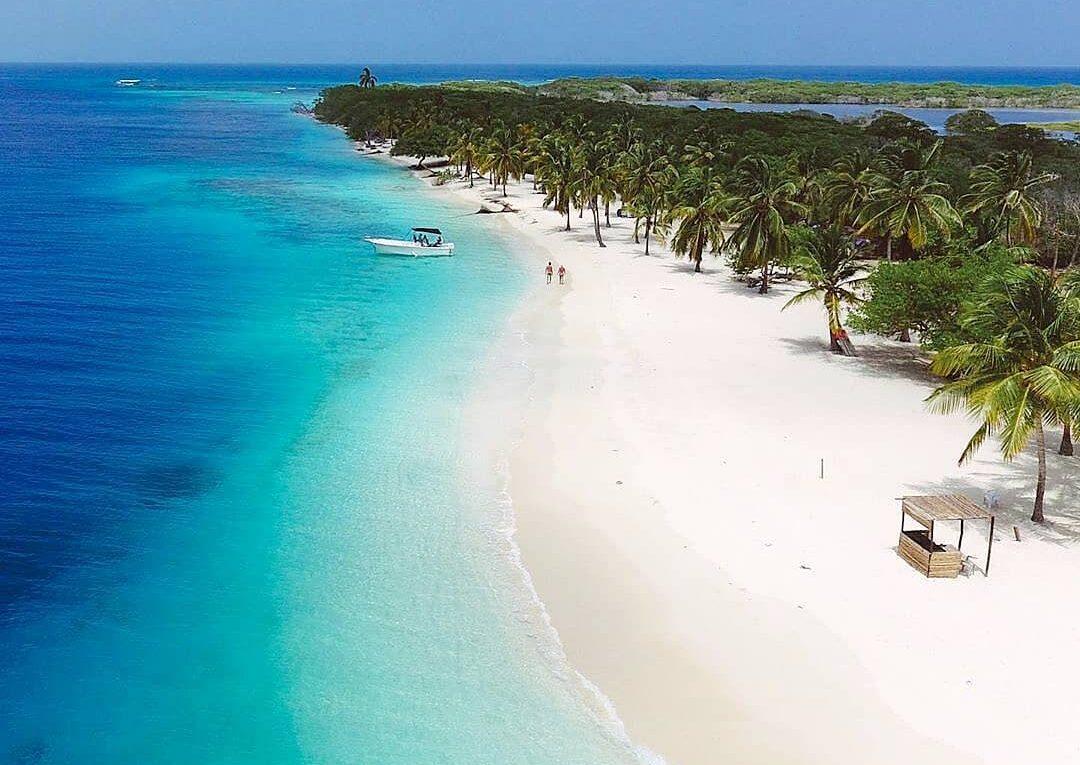 plage cayo sombreroplus belles plages d'Amérique du Sud