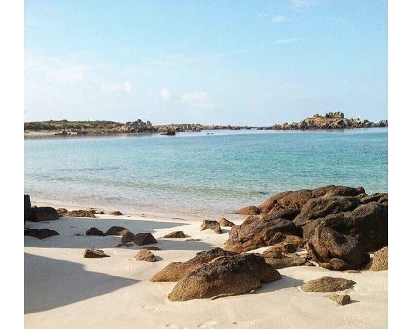 plage sable rochers iles chausey Plus belles plages de France
