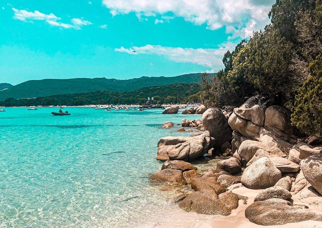 plage santa giulia corse Plus belles plages de France
