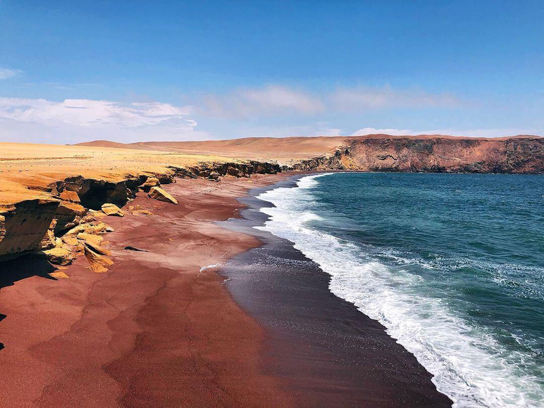 playa roja perou plus belles plages d'Amérique du Sud