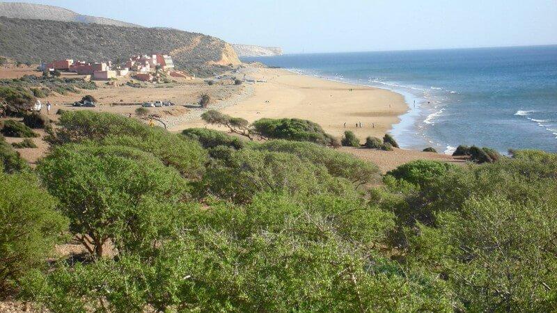 plage d'aghroud plages d'agadir