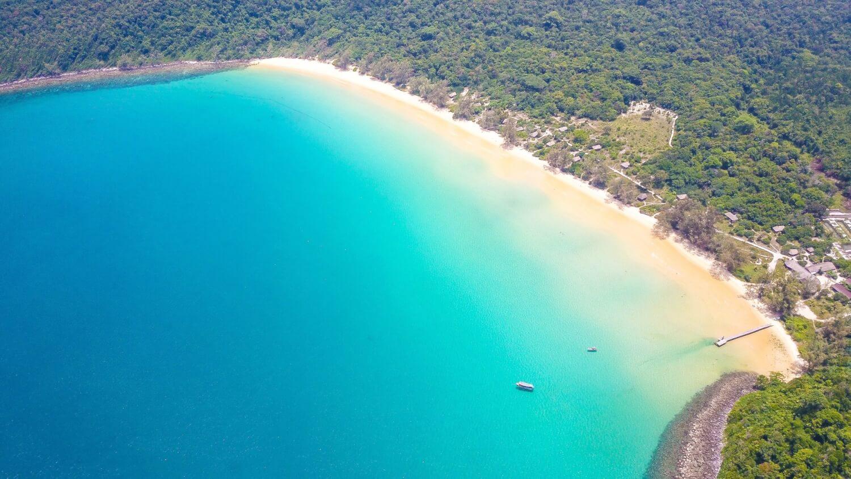 lazy beach koh rong plages de Sihanoukville