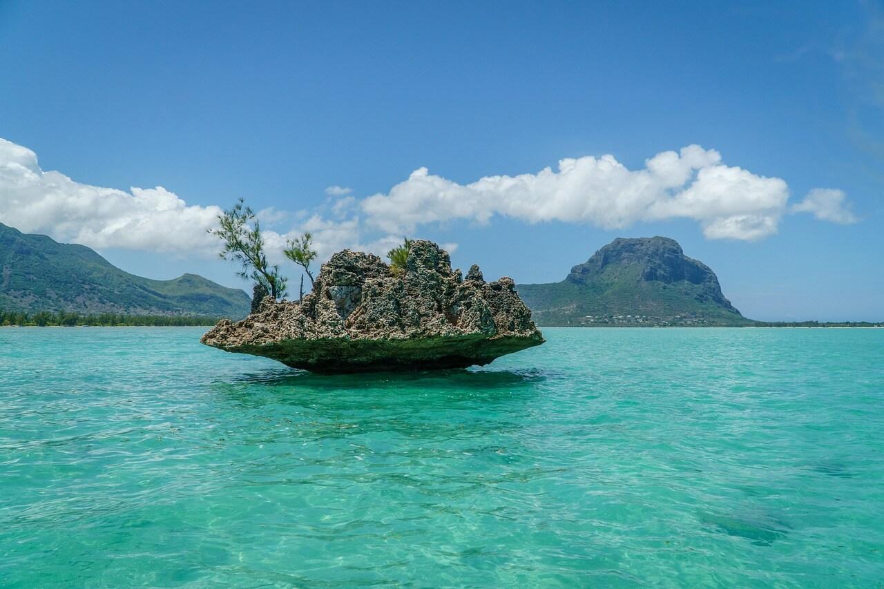 ile au bénitier plongée à l'île Maurice