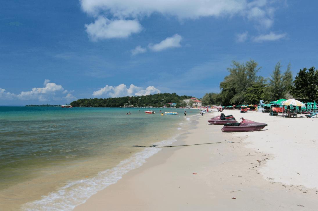 occheuteal beach sable plages de Sihanoukville