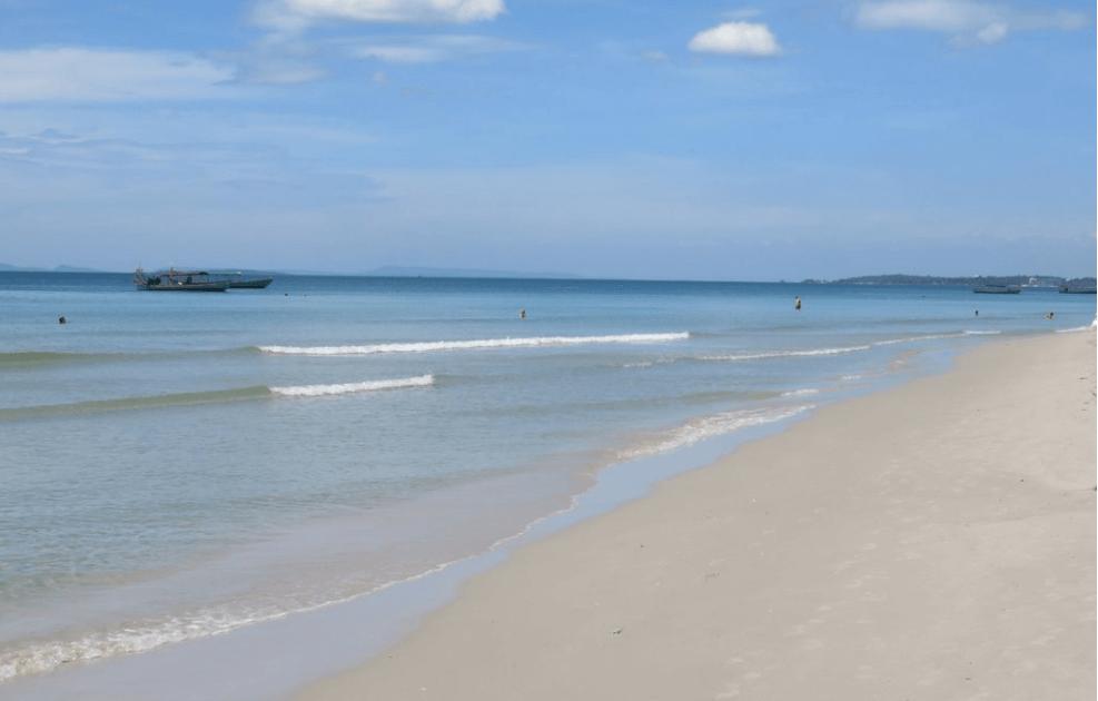 otres beach mer calme plages de Sihanoukville
