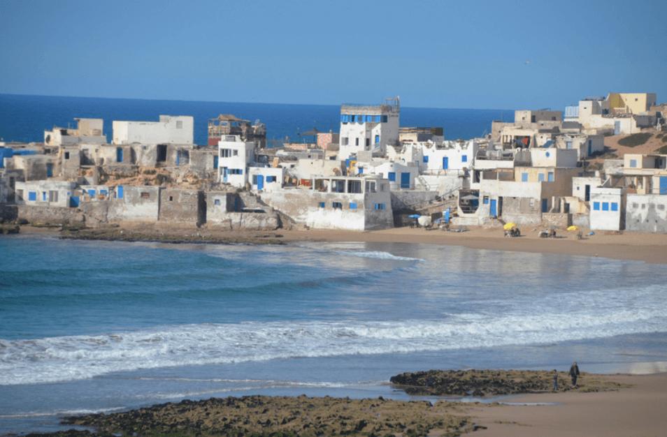 plage de tifnit maisons plages d'agadir