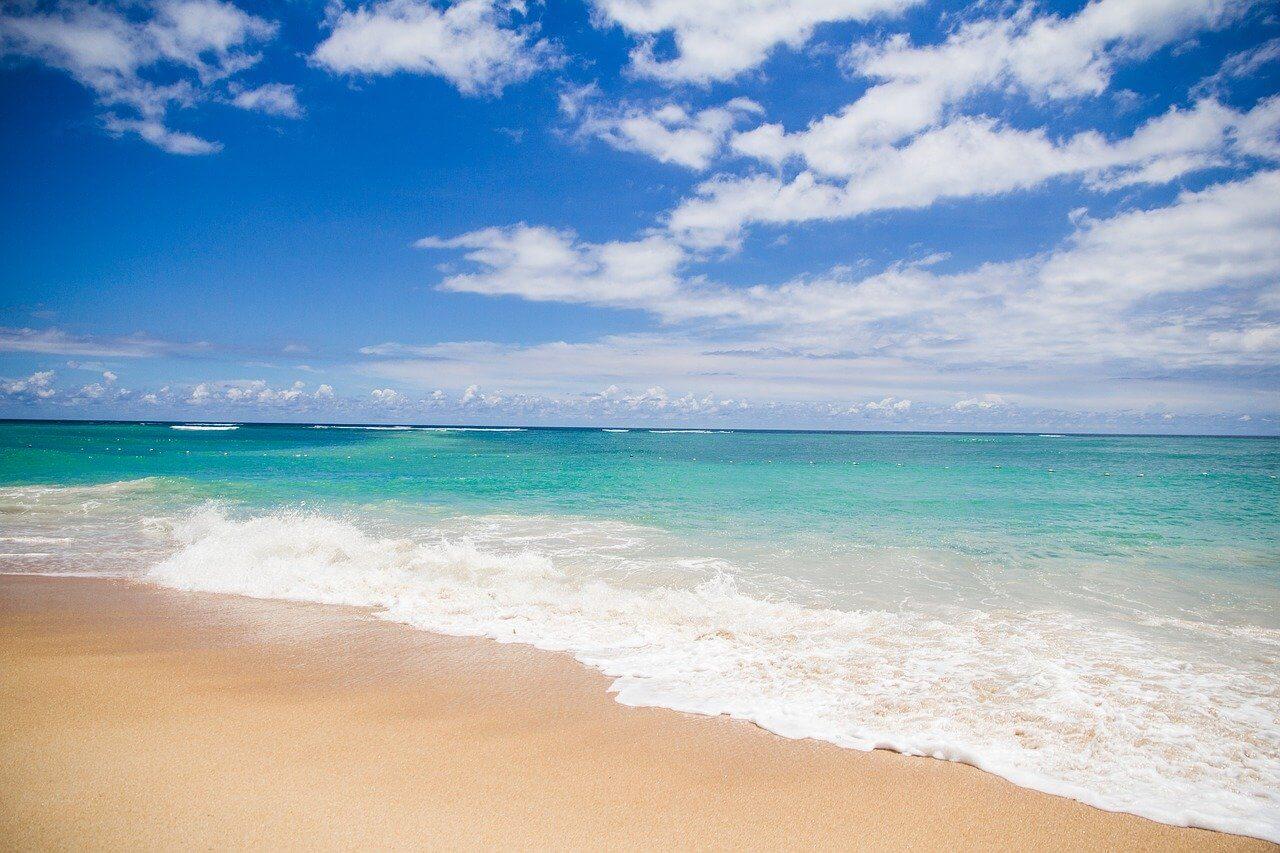etendue de sable mer