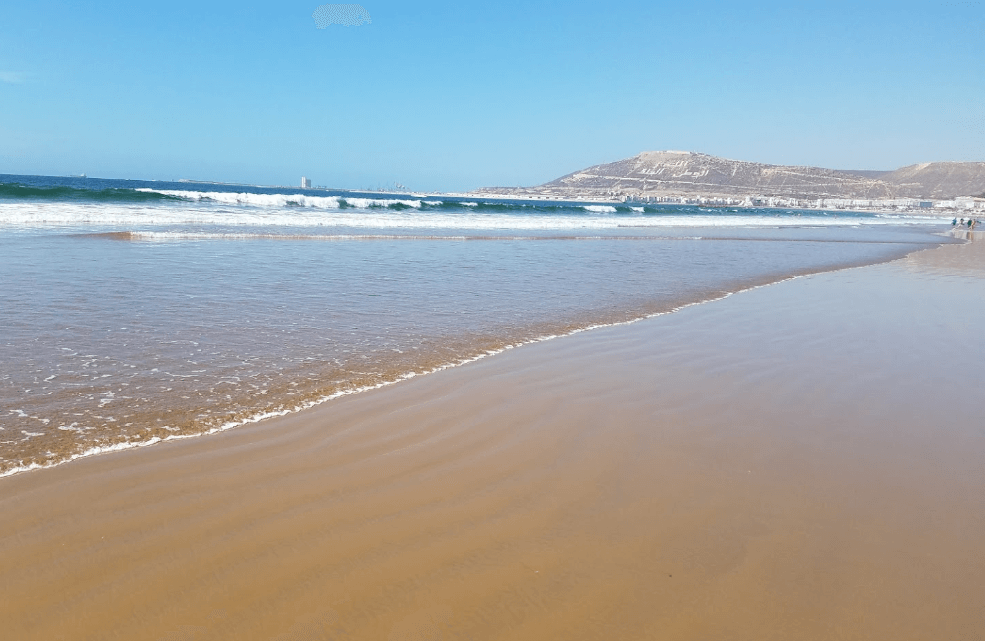 plage d'agadir sable plages d'agadir