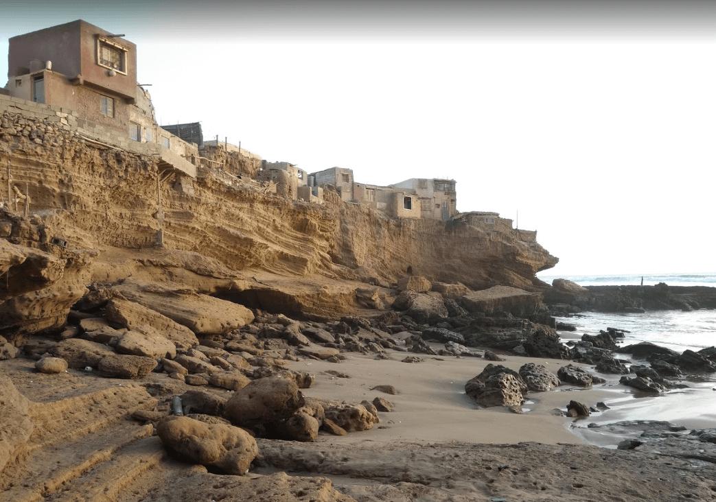 plage de sidi toual falaises plages d'agadir