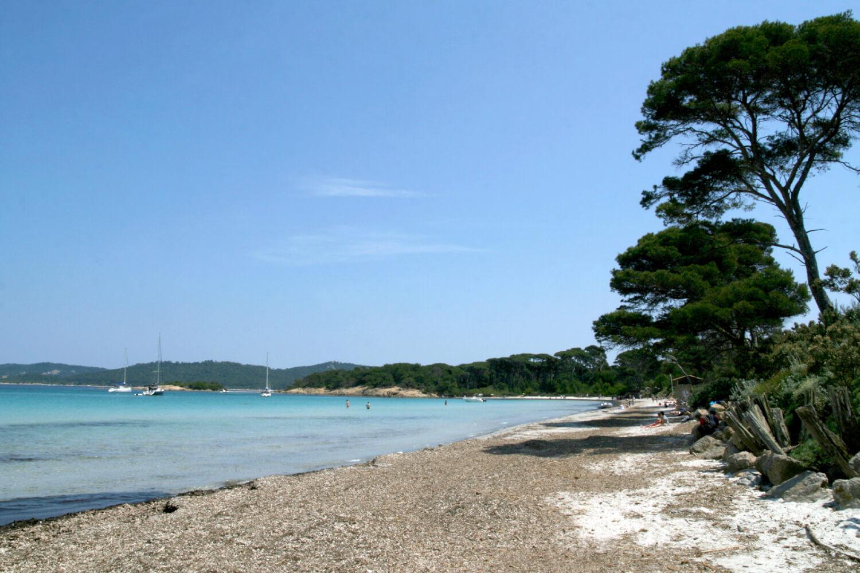 Les plages de l'île de Porquerolles
