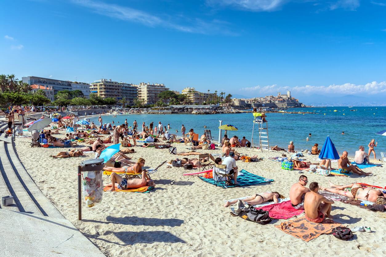 Les plages du Ponteil et de la Salis, Antibes