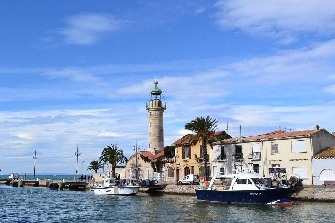 grau du roi port camargue excursion en bateau promenade en mer en france
